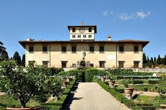 The gardens at Villa La Petraia in Florence