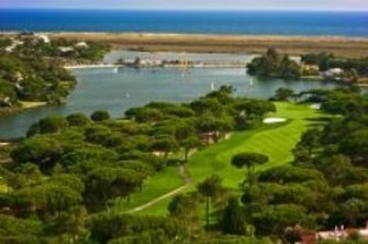 Portuguese villas at Quinta do Lago are afforded stunning views of lush fairways and a natural tidal lagoon